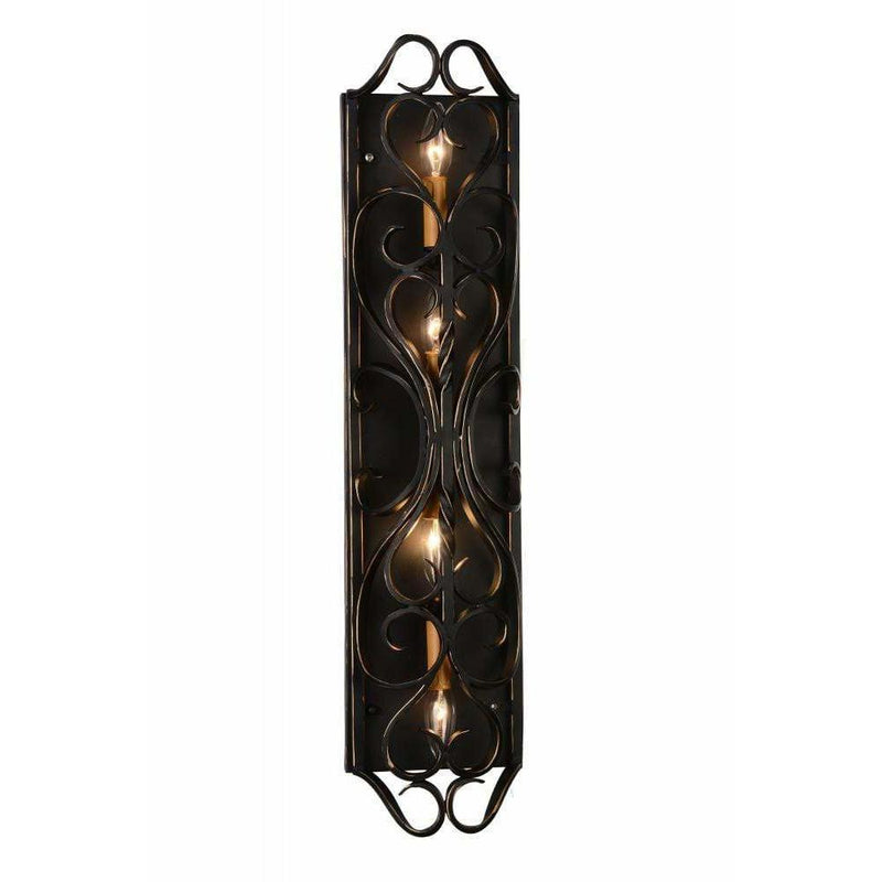CWI Lighting Wall Sconces Autumn Bronze Branch 4 Light Wall Sconce with Autumn Bronze finish by CWI Lighting 9888W30-4-122