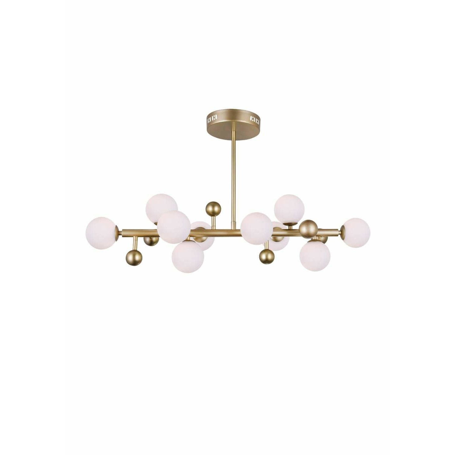CWI Lighting Chandeliers Sun Gold Element 10 Light Chandelier with Sun Gold Finish by CWI Lighting 1125P36-10-268