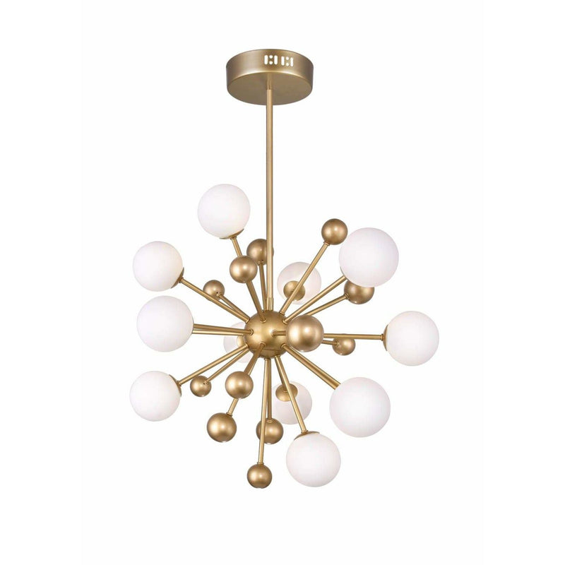CWI Lighting Chandeliers Sun Gold Element 11 Light Chandelier with Sun Gold Finish by CWI Lighting 1125P24-11-268