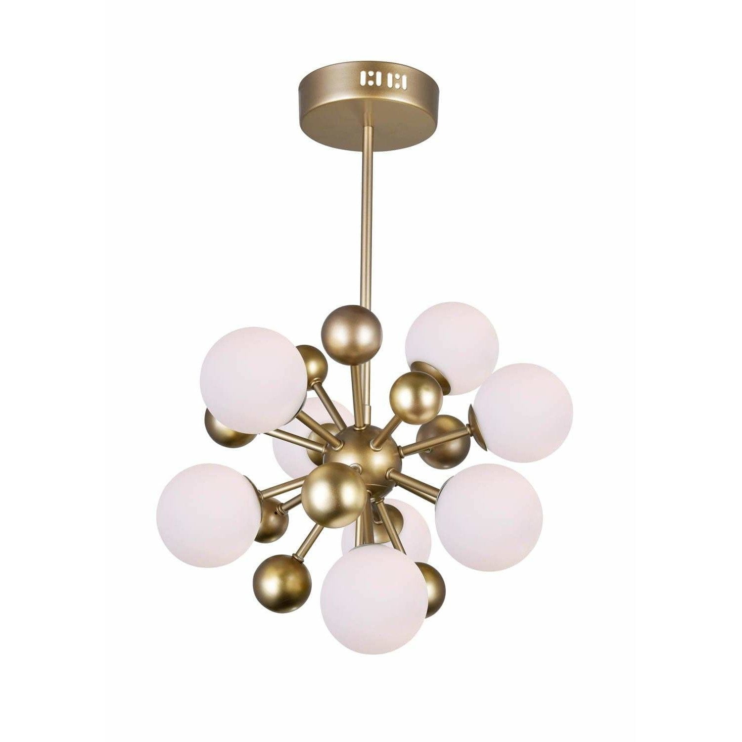 CWI Lighting Chandeliers Sun Gold Element 8 Light Chandelier with Sun Gold Finish by CWI Lighting 1125P16-8-268