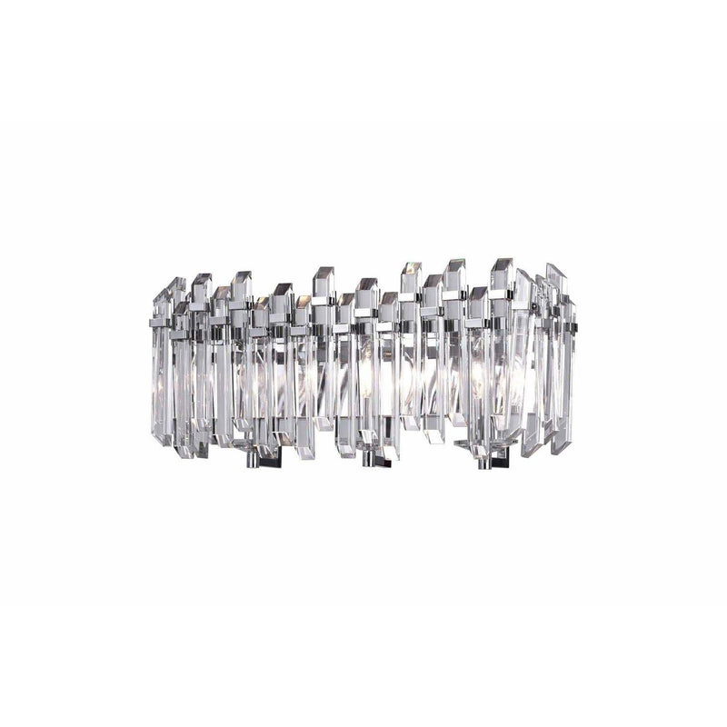 CWI Lighting Wall Sconces Chrome / K9 Clear Henrietta 3 Light Wall Sconce with Chrome Finish by CWI Lighting 1065W21-3-601