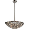 CWI Lighting Chandeliers Satin Nickel Wallula 5 Light Chandelier with Satin Nickel finish by CWI Lighting 9908P28-5-606