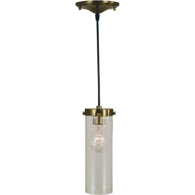 Framburg Pendants Antique Brass 1-Light Antique Brass Hammersmith Pendant by Framburg 4758