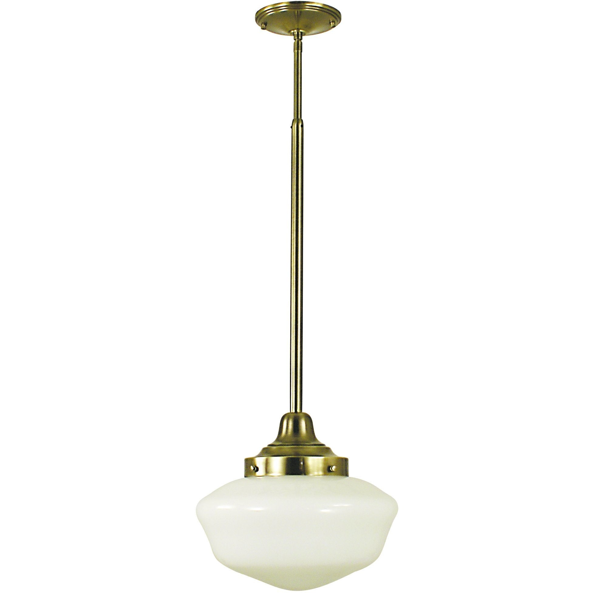 Framburg Pendants Antique Brass 1-Light Antique Brass Taylor Pendant by Framburg 2556