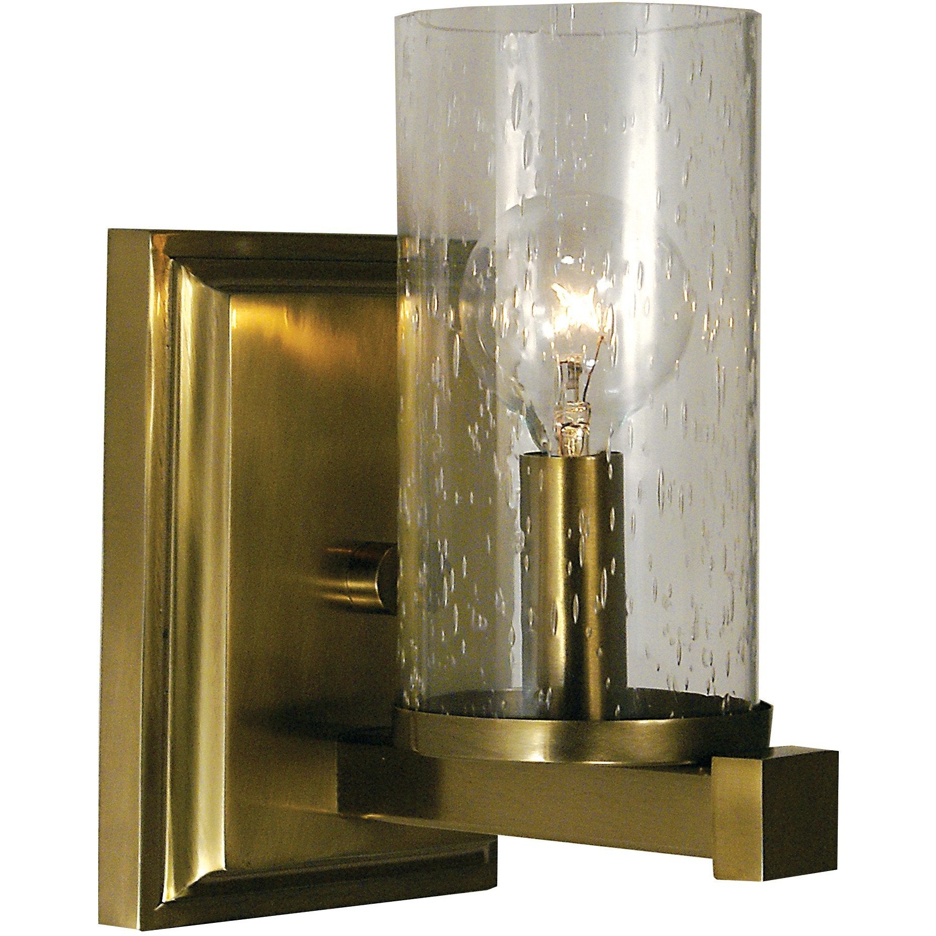 Framburg Wall Sconces Brushed Bronze 1-Light Brushed Bronze Compass Sconce by Framburg 1111