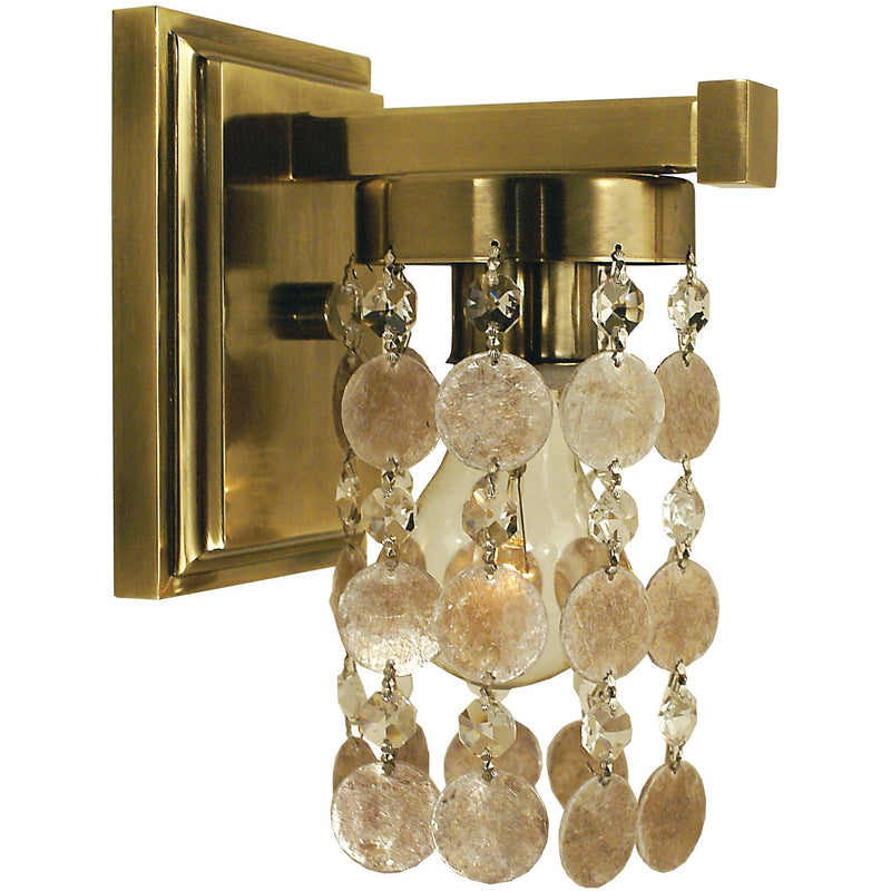 Framburg Wall Sconces French Brass 1-Light French Brass Naomi Sconce by Framburg 4361