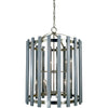 Framburg Foyer Chandeliers Polished Nickel 12-Light Arcadia Foyer Chandelier by Framburg 5128