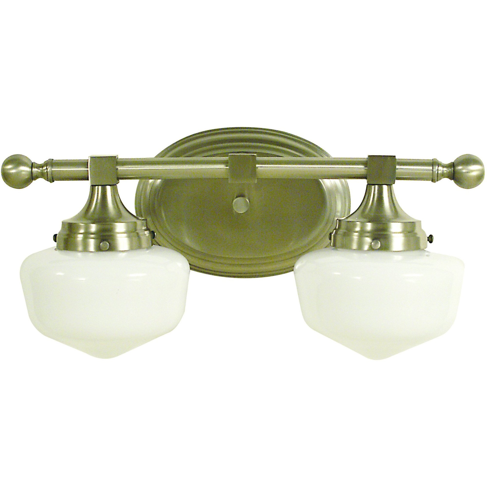 Framburg Wall Sconces Brushed Nickel 2-Light Brushed Nickel Taylor Sconce by Framburg 2938