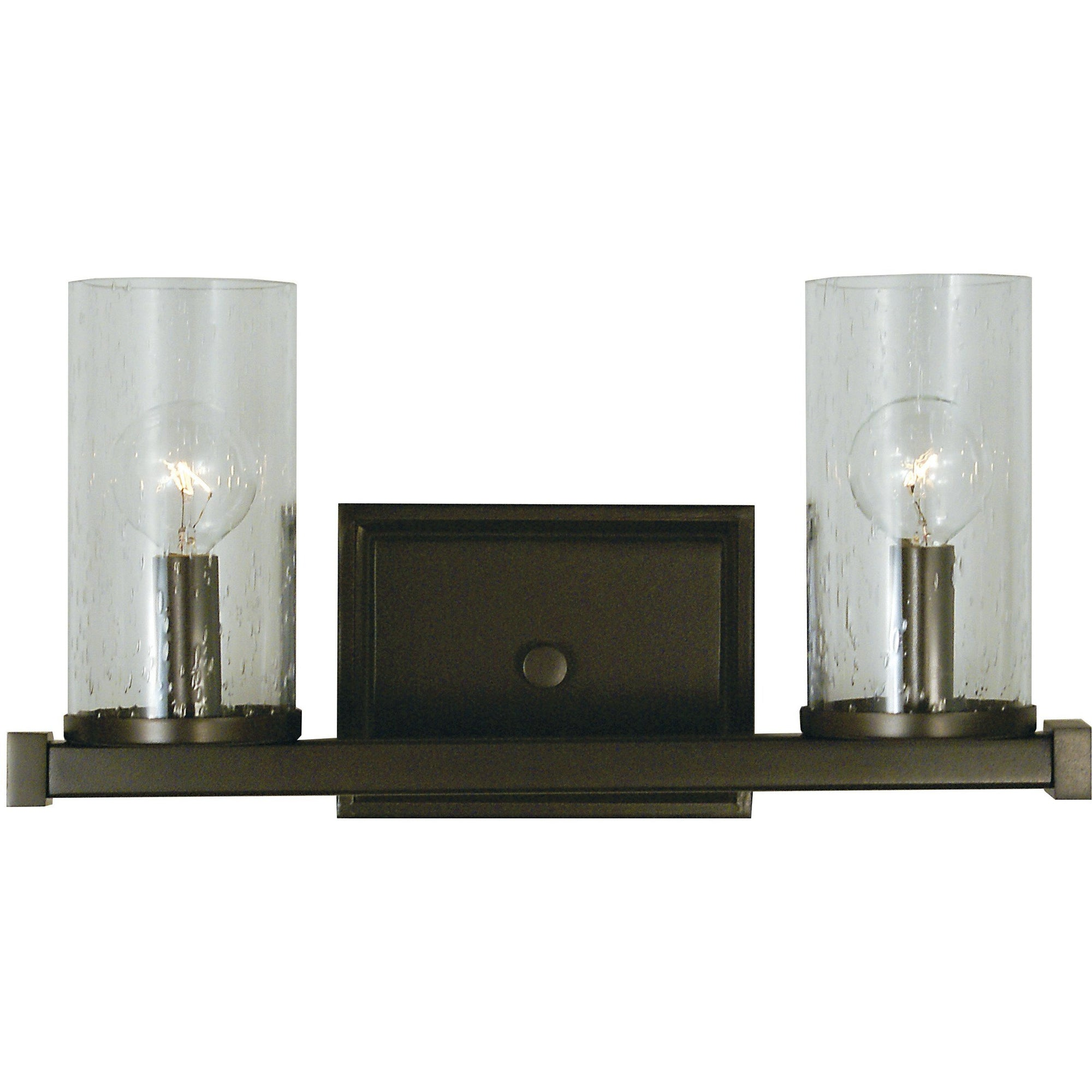 Framburg Wall Sconces Mahogany Bronze 2-Light Mahogany Bronze Compass Sconce by Framburg 1112