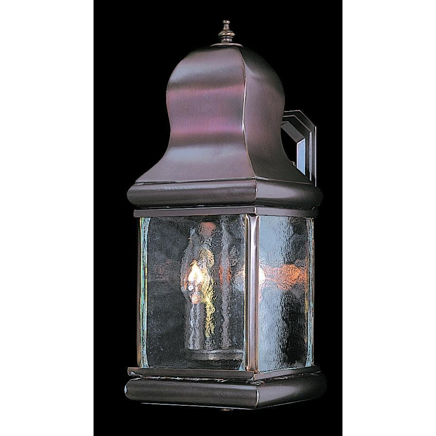 Framburg Exterior Wall Mounts Mahogany Bronze 2-Light Mahogany Bronze Marquis Exterior Wall Mount by Framburg 9260