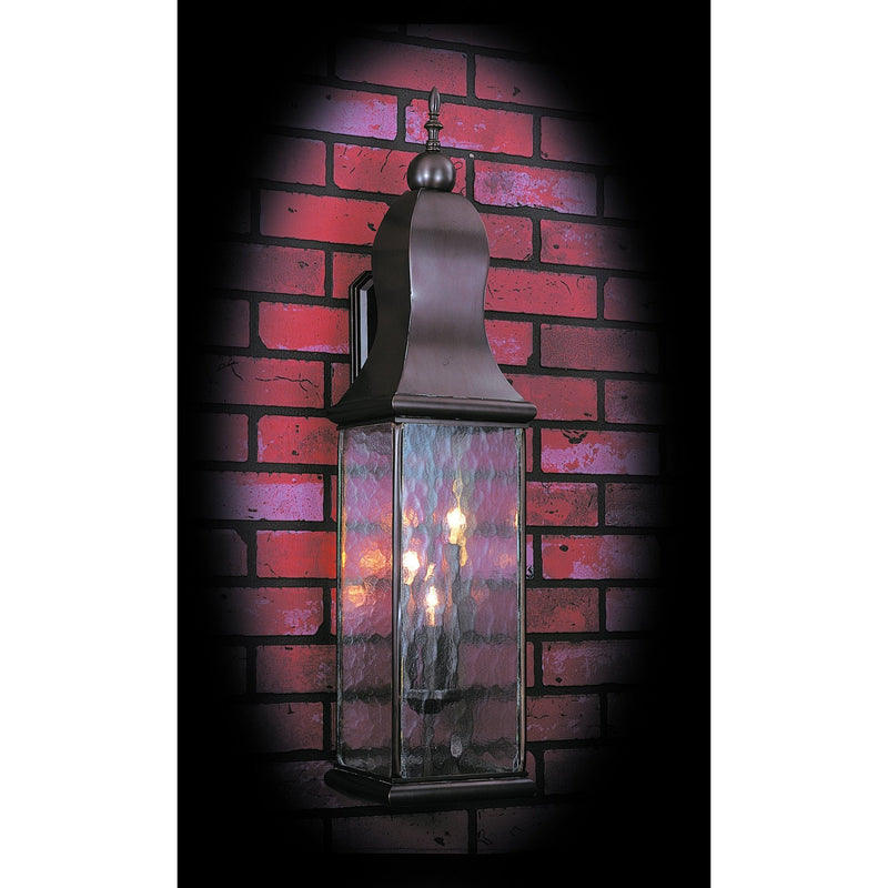 Framburg Exterior Wall Mounts Mahogany Bronze 3-Light Mahogany Bronze Marquis Exterior Wall Mount by Framburg 9268