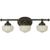 Framburg Wall Sconces Mahogany Bronze 3-Light Mahogany Bronze Taylor Sconce by Framburg 2939