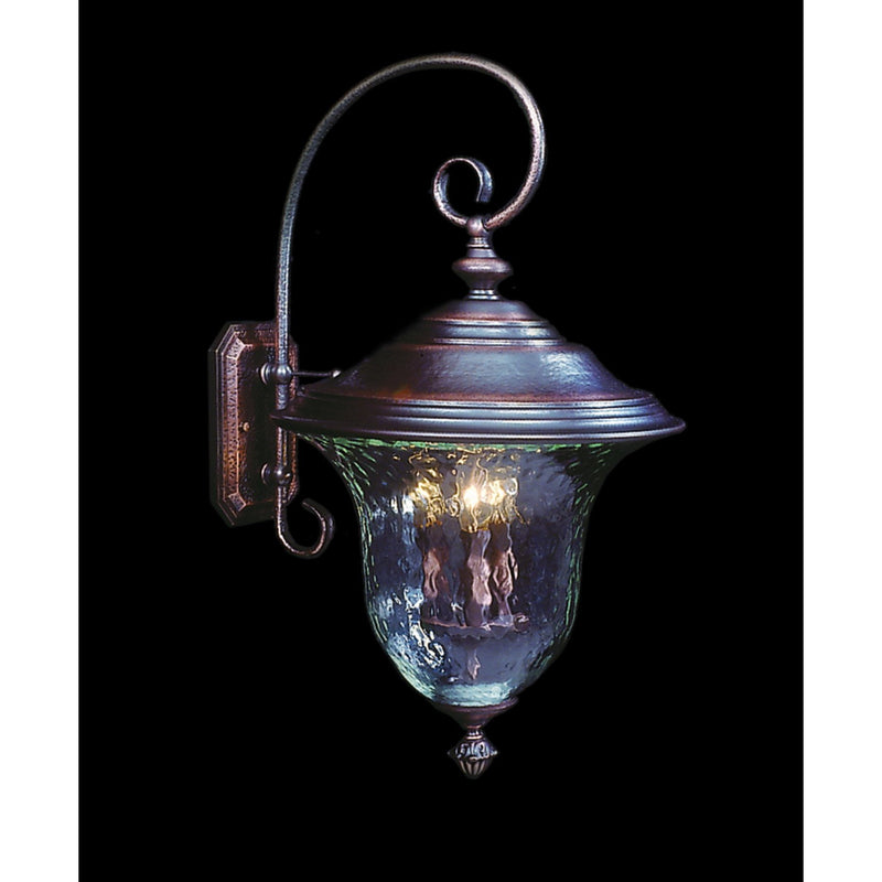 Framburg Exterior Wall Mounts Siena Bronze 3-Light Siena Bronze Carcassonne Exterior Wall Mount by Framburg 8330