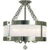 Framburg Flush/Semi Flush Mounts Polished Silver 5-Light Polished Silver Astor Flush / Semi-Flush Mount by Framburg 2164