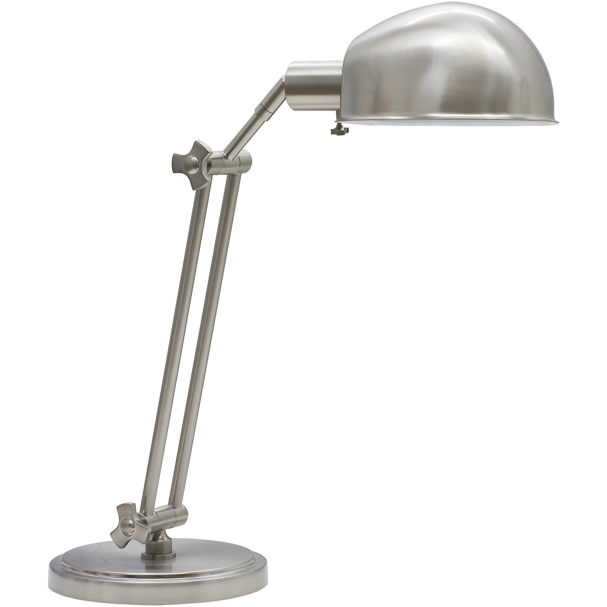 House Of Troy Table Lamps Addison Adjustable Pharmacy Desk Lamp by House Of Troy AD450-SN