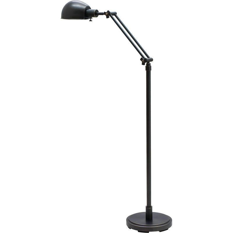 House Of Troy Floor Lamps Addison Adjustable Pharmacy Floor Lamp by House Of Troy AD400-OB
