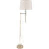 House Of Troy Floor Lamps Averill Floor Lamp by House Of Troy AV101-PN