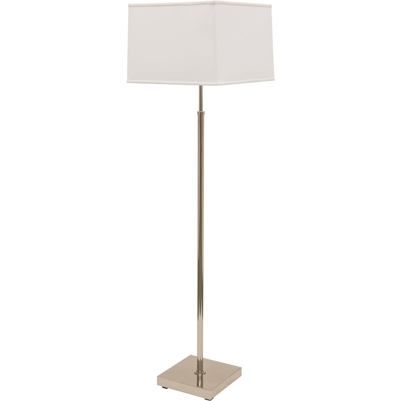 House Of Troy Floor Lamps Burke Floor Lamp by House Of Troy BU200-PN