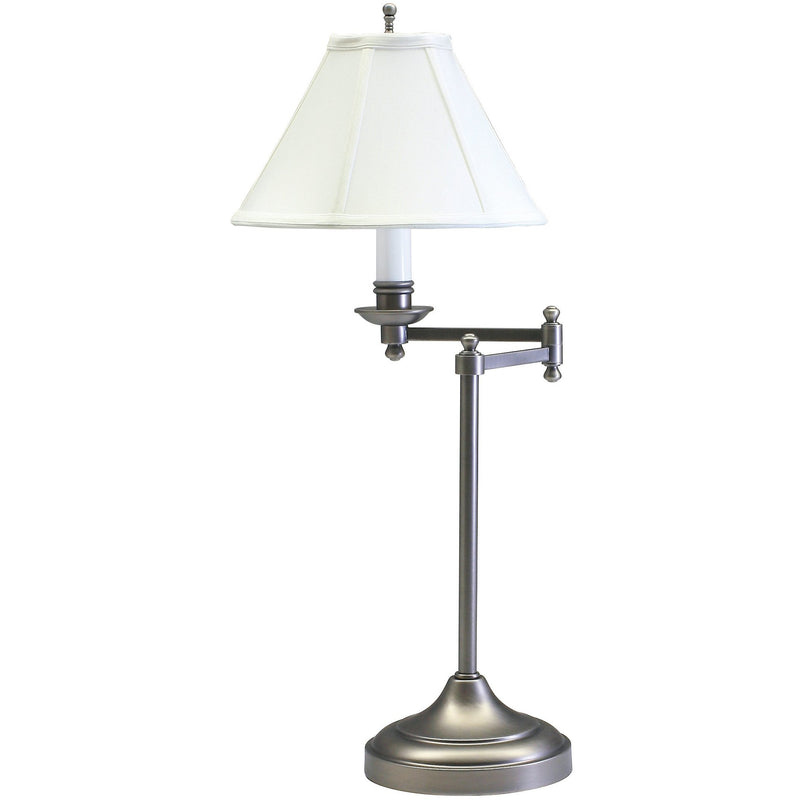 House Of Troy Table Lamps Club Swing Arm Table Lamp by House Of Troy CL251-AS
