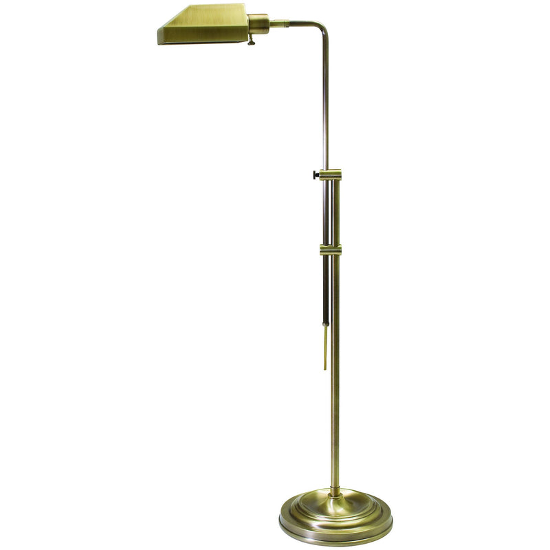 House Of Troy Floor Lamps Coach Adjustable Pharmacy Floor Lamp by House Of Troy CH825-AB