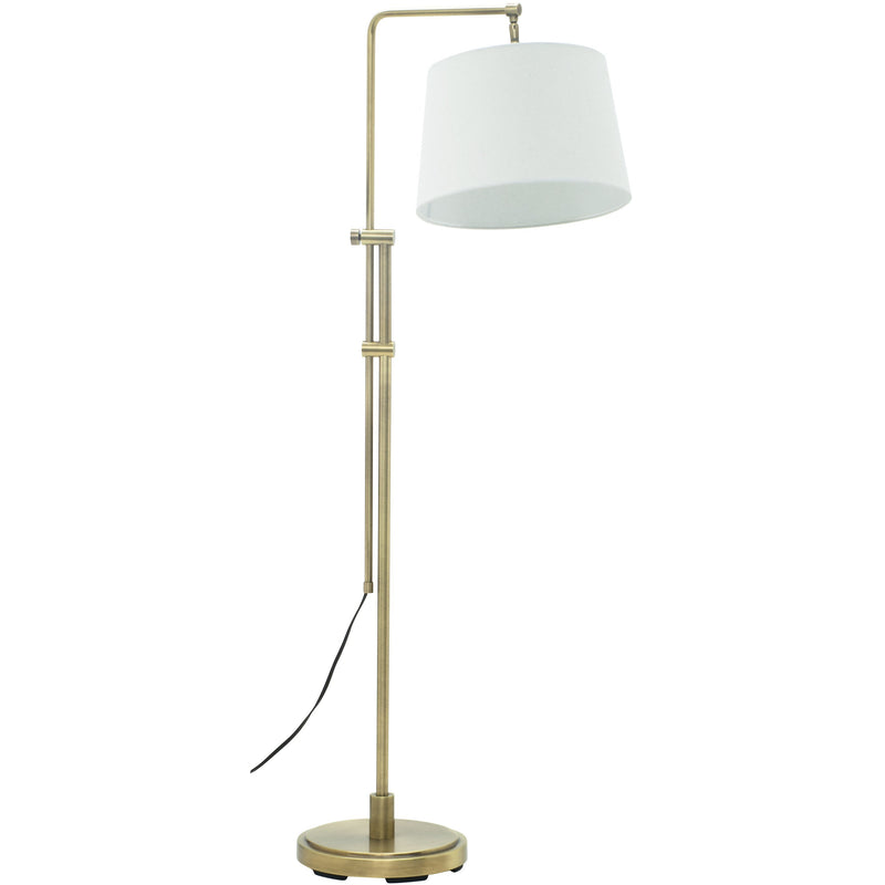 House Of Troy Floor Lamps Crown Point Adjustable Downbridge Floor Lamp by House Of Troy CR700-AB