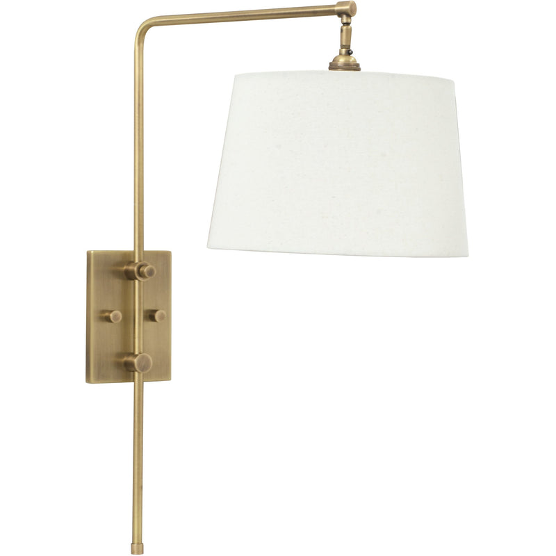 House Of Troy Wall Lamps Crown Point Adjustable Downbridge Wall Lamp by House Of Troy CR725-AB