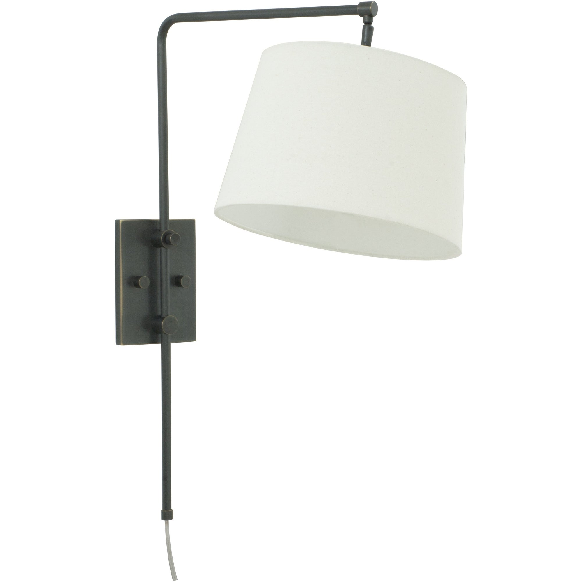 House Of Troy Wall Lamps Crown Point Adjustable Downbridge Wall Lamp by House Of Troy CR725-OB