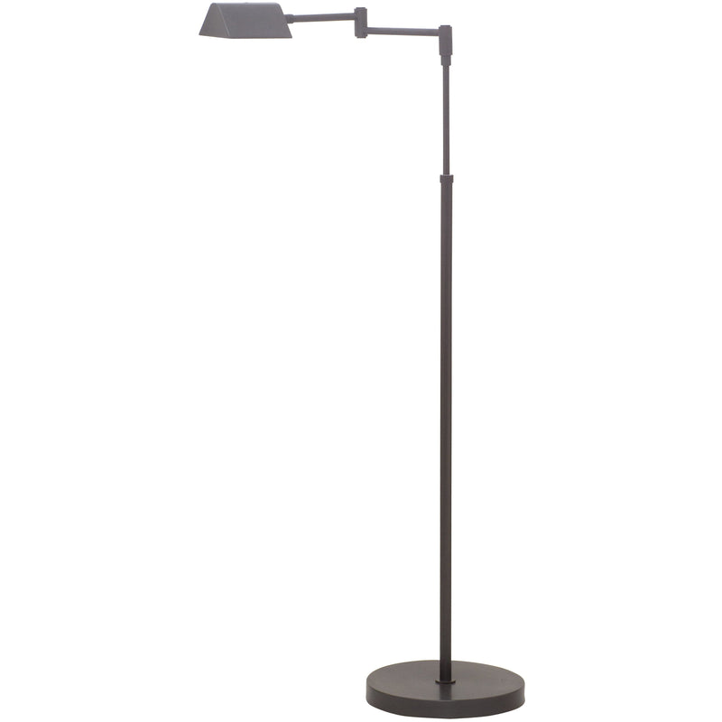 House Of Troy Floor Lamps Delta LED Task Floor Lamp by House Of Troy D100-OB