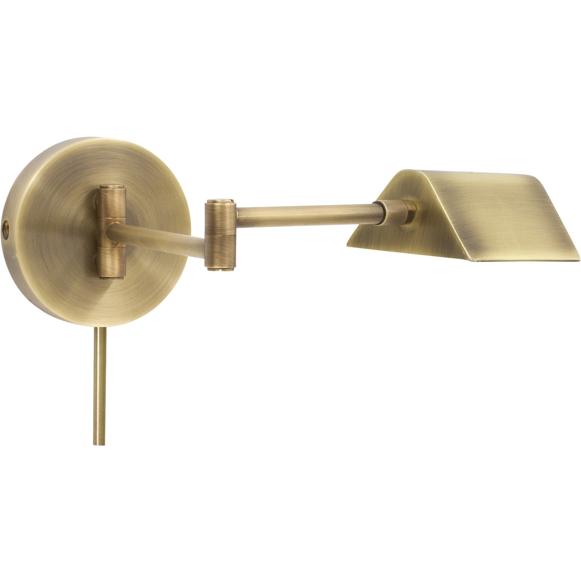 House Of Troy Wall Lamps Delta LED Task Wall Lamp by House Of Troy D175-AB
