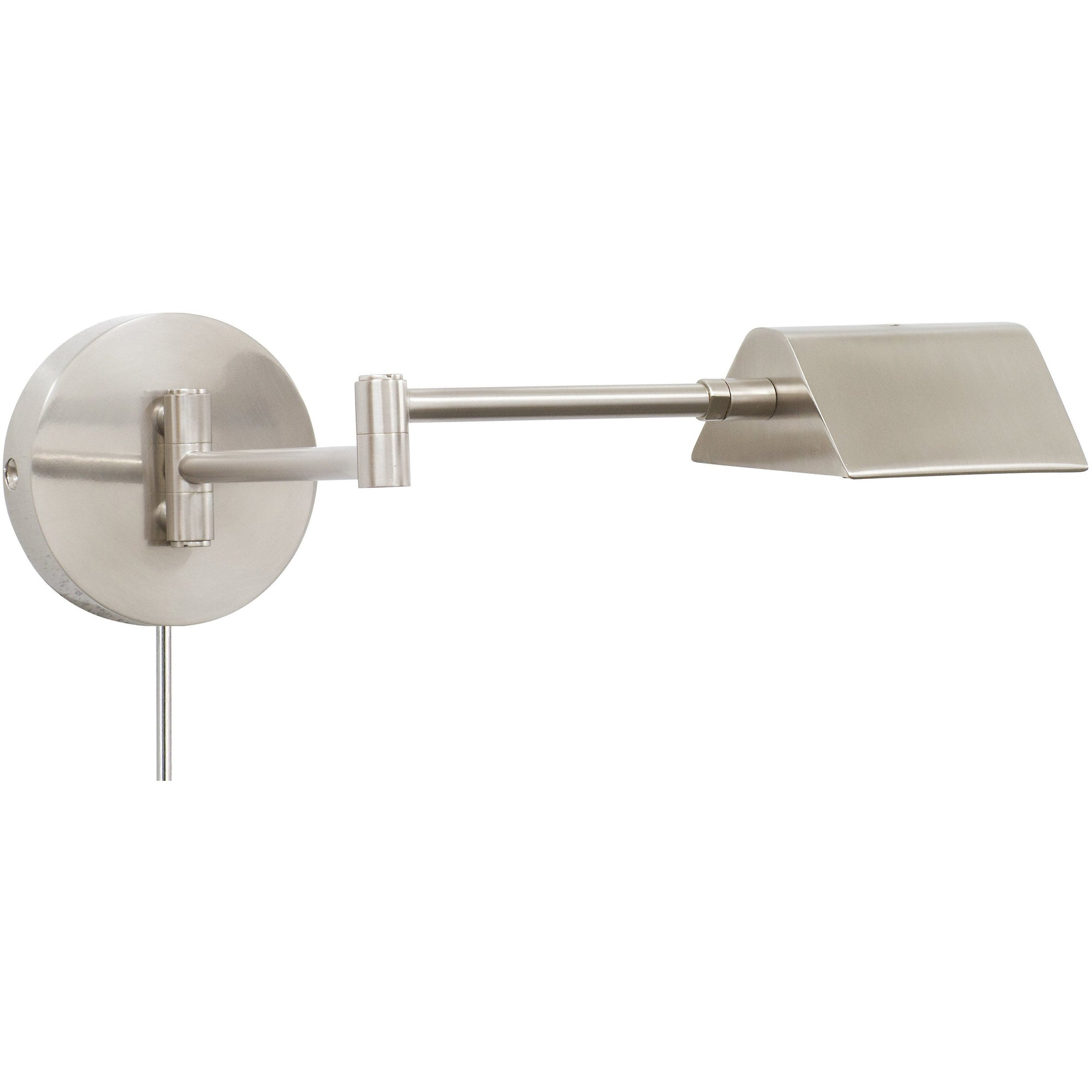 House Of Troy Wall Lamps Delta LED Task Wall Lamp by House Of Troy D175-SN