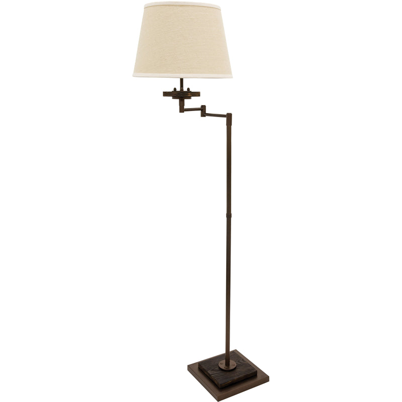 House Of Troy Floor Lamps Farmhouse Swing Arm Floor Lamp by House Of Troy FH301-CHB