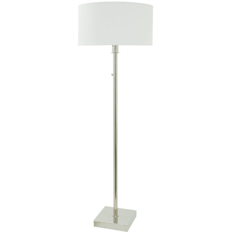 House Of Troy Floor Lamps Franklin Floor Lamp with Full Range Dimmer by House Of Troy FR700-PN