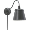 House Of Troy Wall Lamps Hyde Park Adjustable Wall Swing Arm Lamp by House Of Troy HP725-OB-MSOB