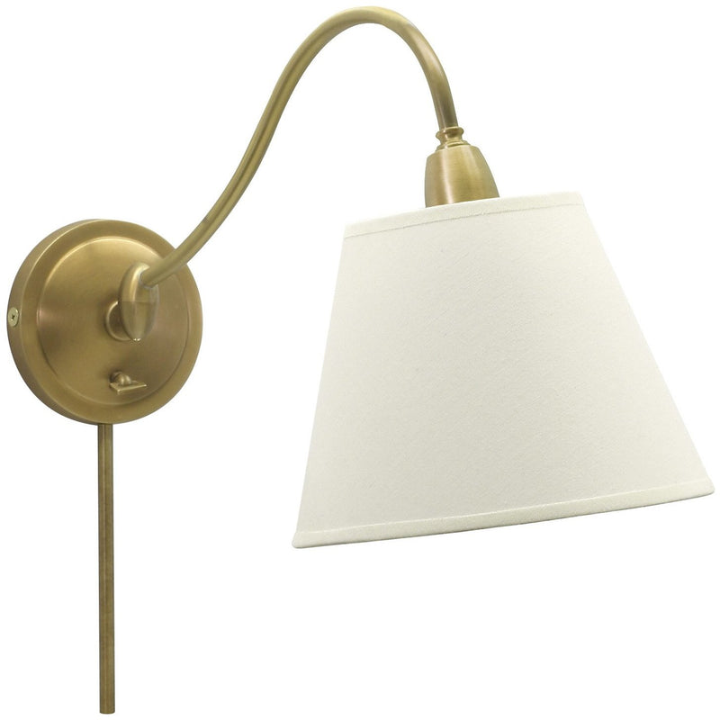 House Of Troy Wall Lamps Hyde Park Adjustable Wall Swing Arm Lamp by House Of Troy HP725-WB-WL