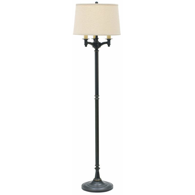 House Of Troy Floor Lamps Lancaster Six-Way Floor Lamp by House Of Troy L800-OB