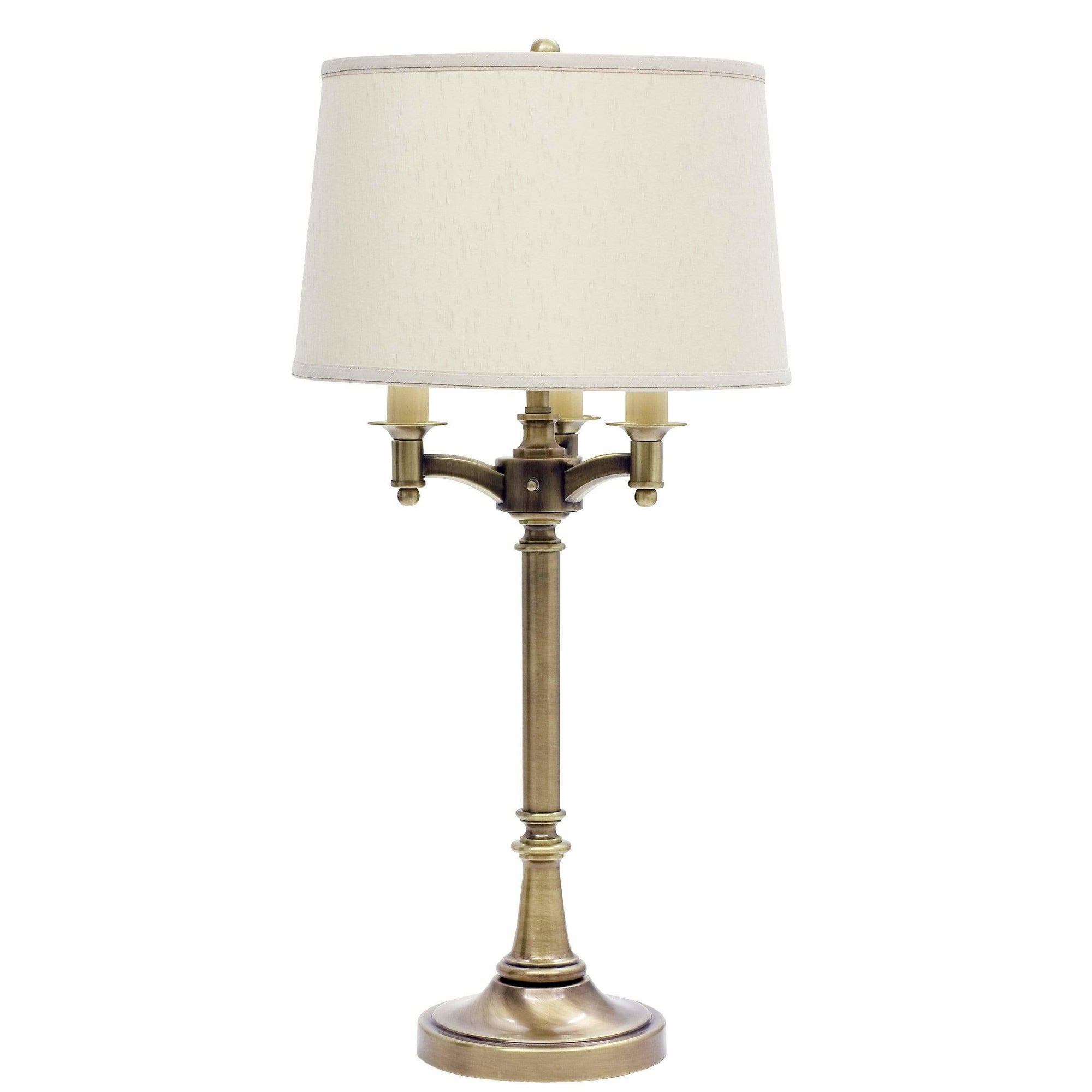 House Of Troy Table Lamps Lancaster Six-Way Table Lamp by House Of Troy L850-AB