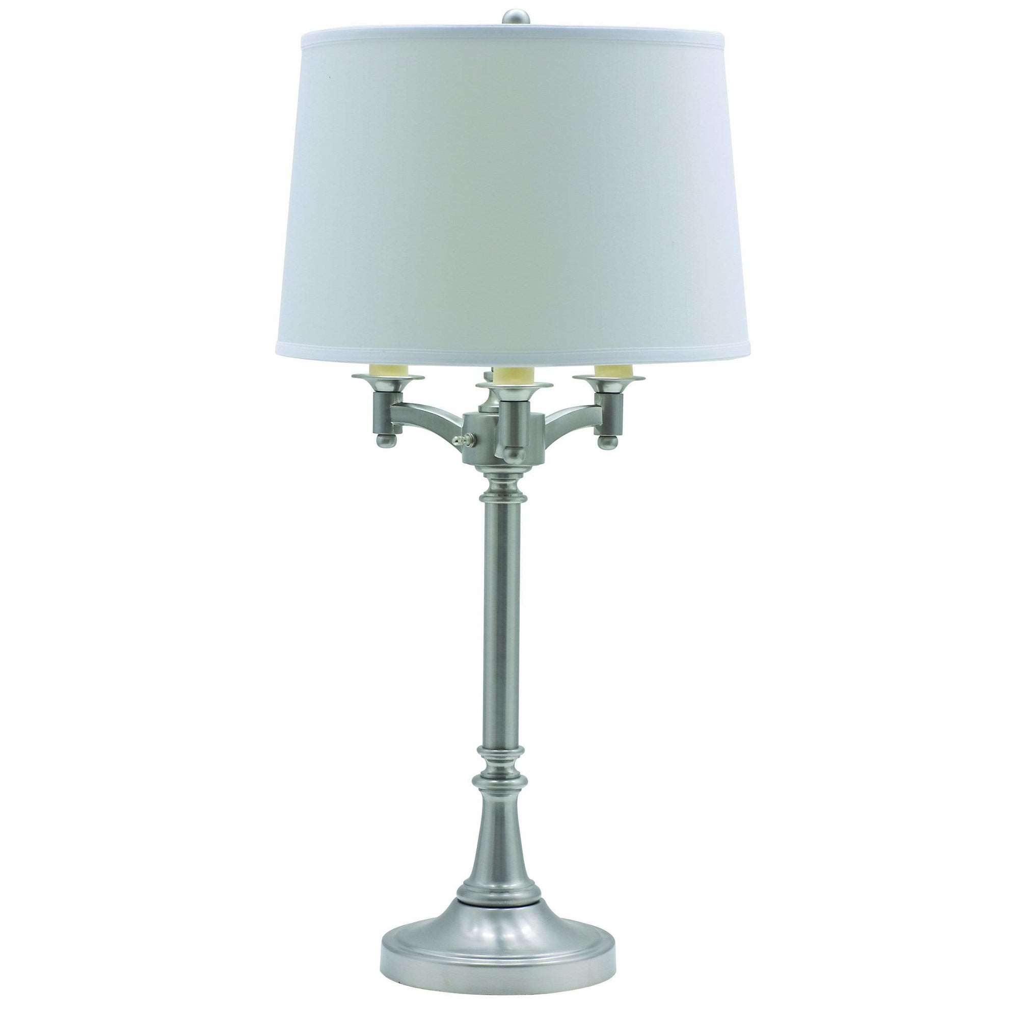House Of Troy Table Lamps Lancaster Six-Way Table Lamp by House Of Troy L850-SN