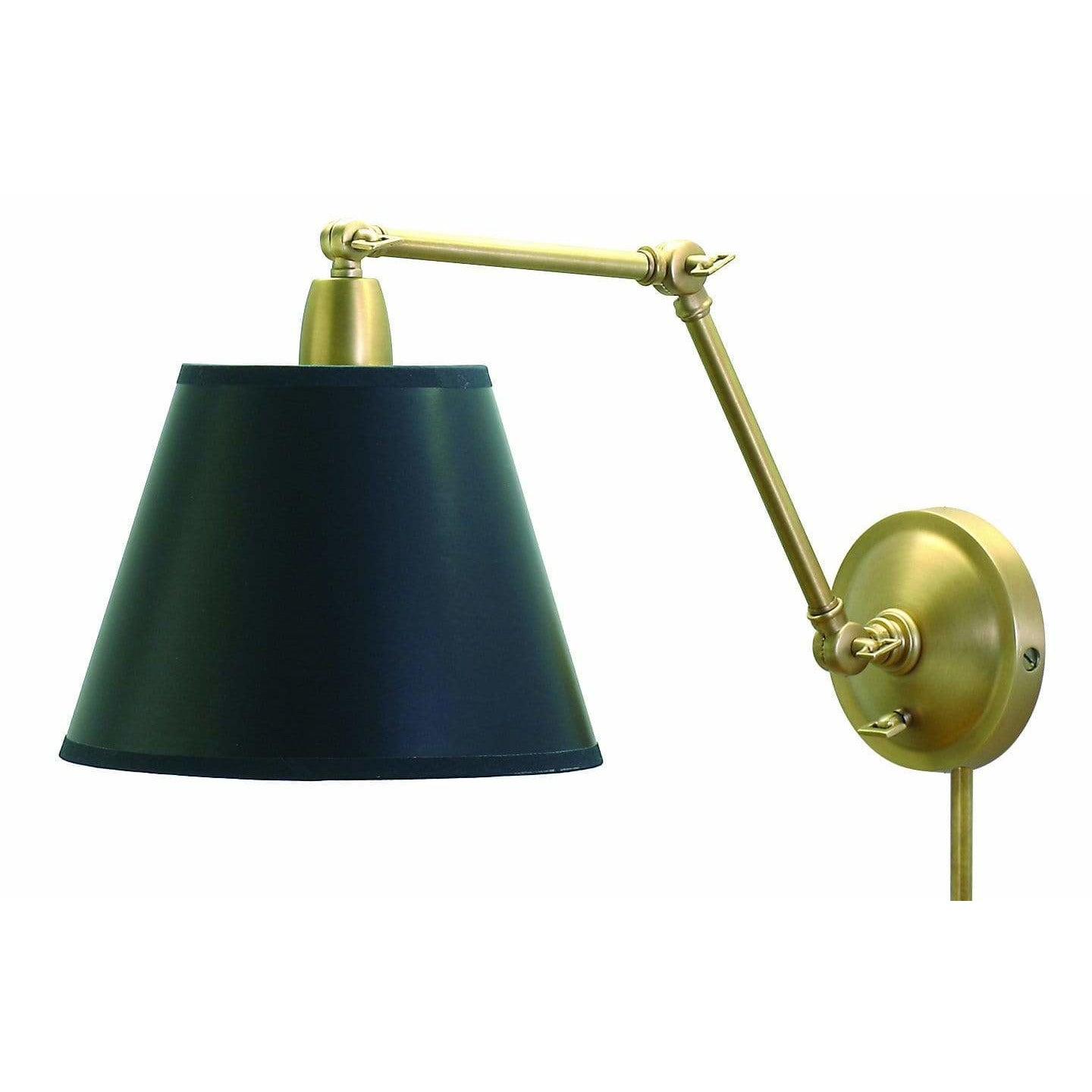 House Of Troy Wall Lamps Library Adjustable Wall Lamp by House Of Troy PL20-WB