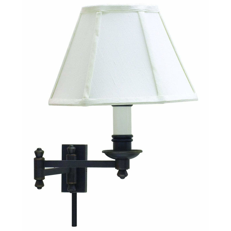 House Of Troy Wall Lamps Library Wall Swing Arm Lamp by House Of Troy LL660-OB