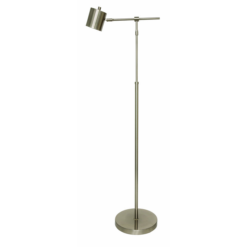 House Of Troy Floor Lamps Morris Floor Lamp by House Of Troy MO200-SN