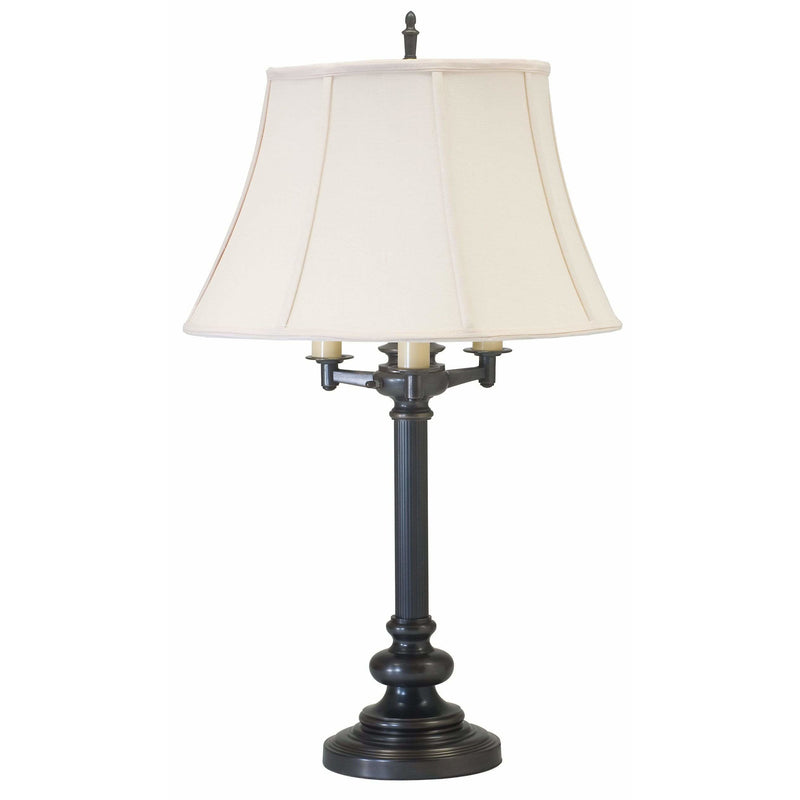 House Of Troy Table Lamps Newport Six-Way Floor Lamp by House Of Troy N650-OB
