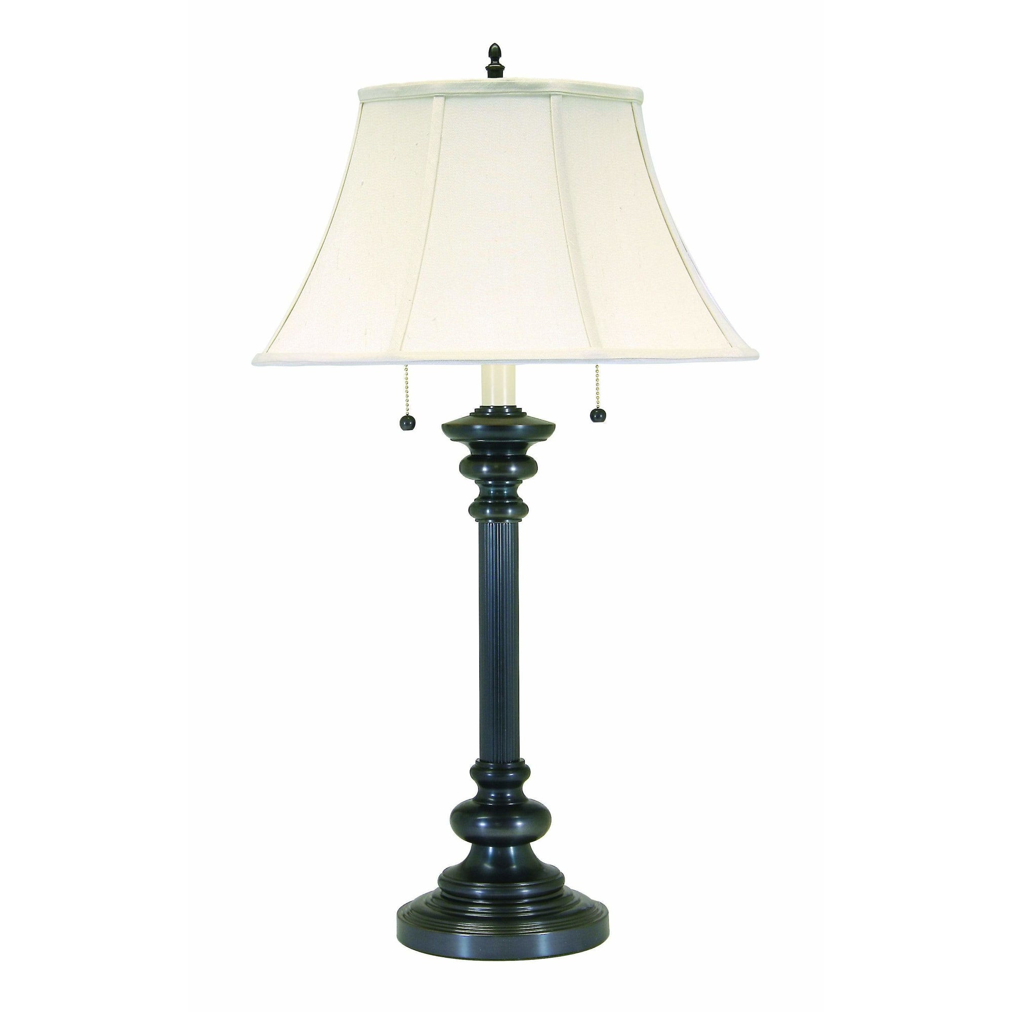 House Of Troy Table Lamps Newport Twin Pull Table Lamp by House Of Troy N651-OB