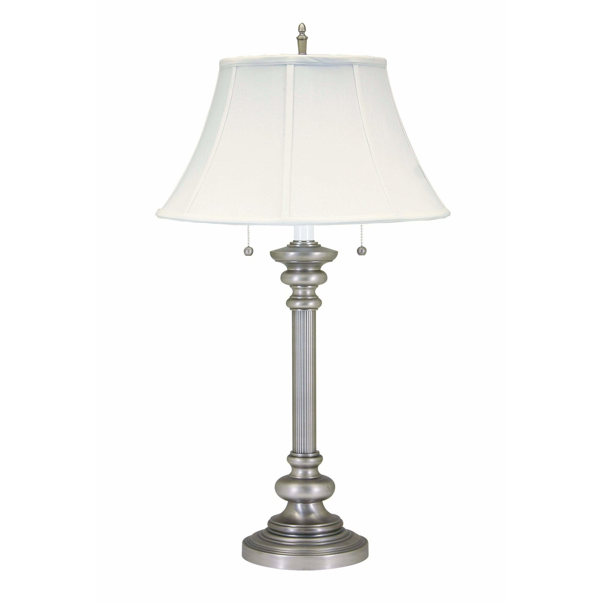 House Of Troy Table Lamps Newport Twin Pull Table Lamp by House Of Troy N651-PTR