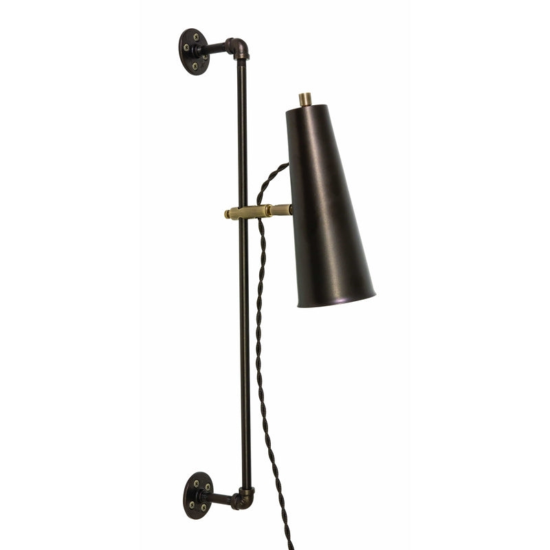 House Of Troy Wall Lamps Norton Wall Lamp by House Of Troy NOR375-CHBAB