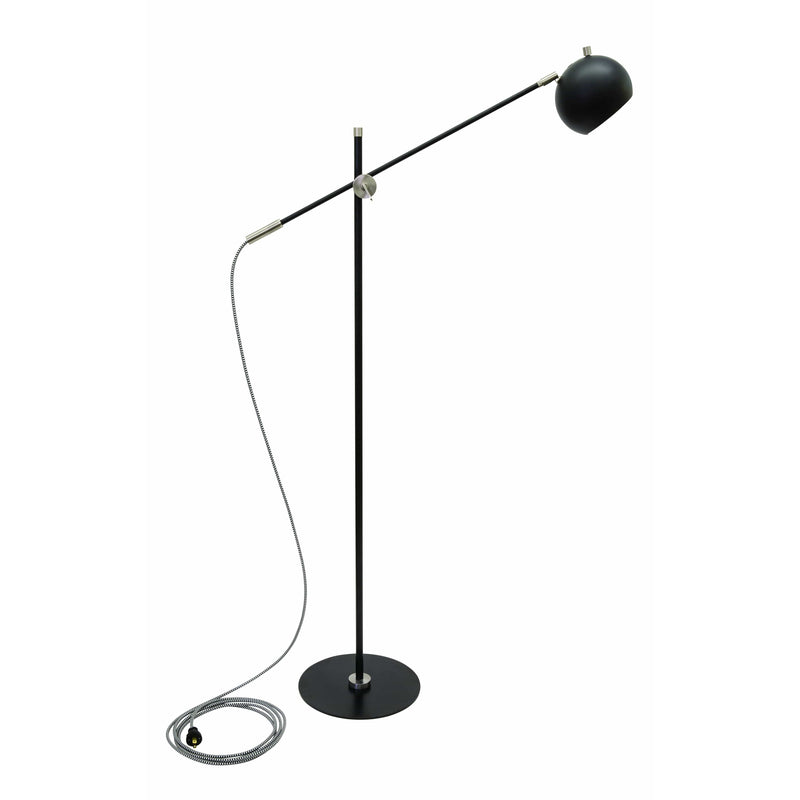 House Of Troy Floor Lamps Orwell Floor Lamp by House Of Troy OR700-BLKSN