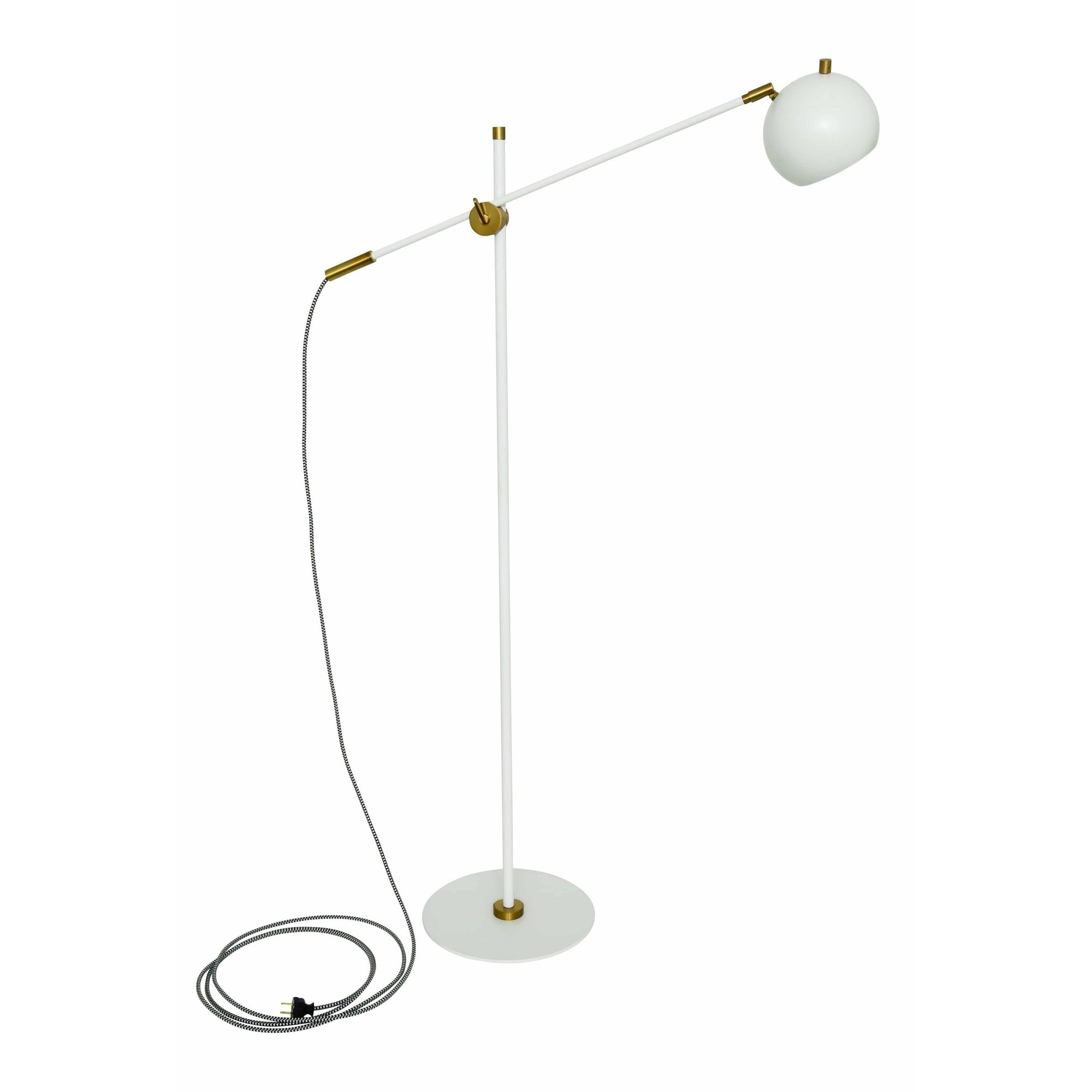 House Of Troy Floor Lamps Orwell Floor Lamp by House Of Troy OR700-WTWB