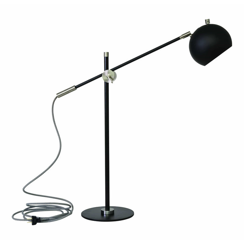House Of Troy Table Lamps Orwell Table Lamp by House Of Troy OR750-BLKSN