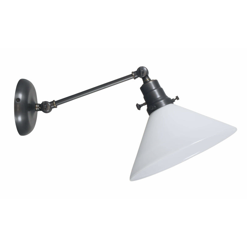 House Of Troy Wall Lamps Otis Wall Lamp by House Of Troy OT675-OB-WT