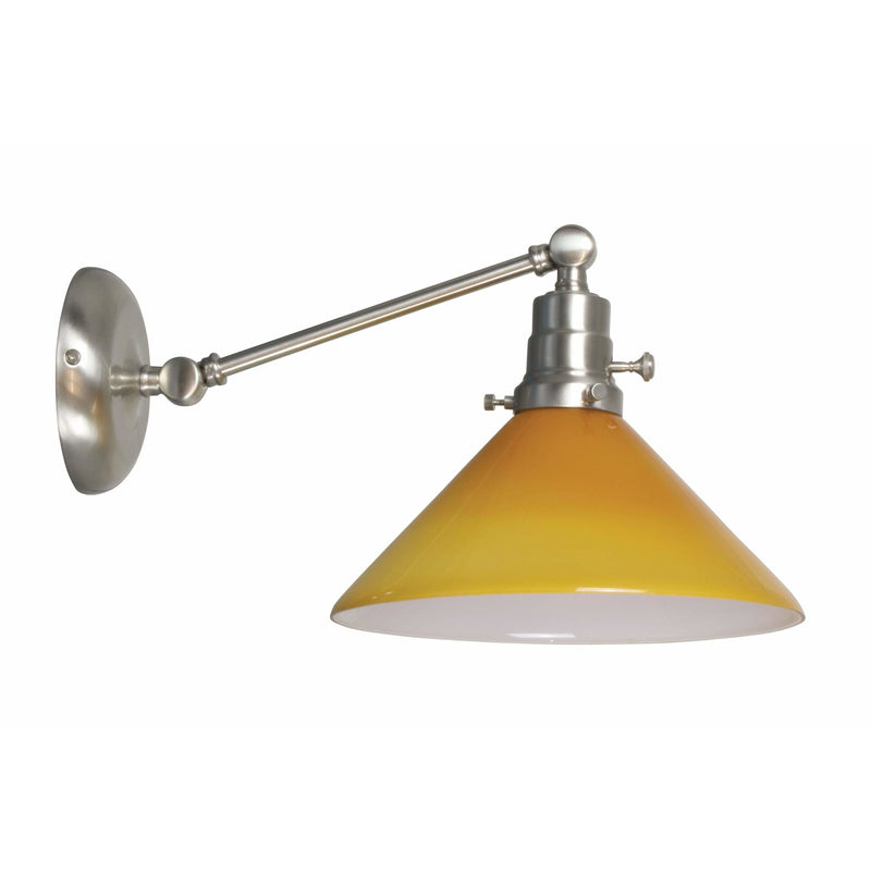 House Of Troy Wall Lamps Otis Wall Lamp by House Of Troy OT675-SN-AM