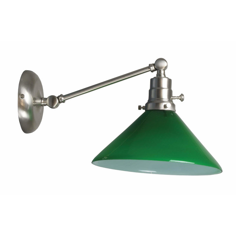 House Of Troy Wall Lamps Otis Wall Lamp by House Of Troy OT675-SN-GR